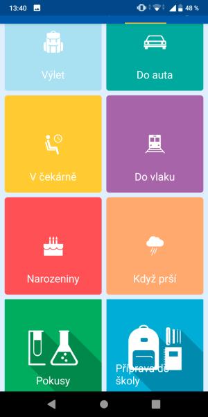Hopskoč aplikace 12