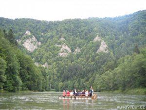 Jízda na pltích - Dunajec Slovensko