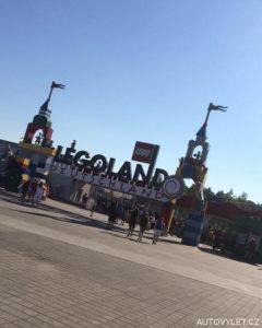 Vstup do Legolandu v Německu
