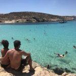 Modrá Laguna - ostrov Comino Malta