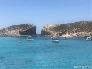 Modrá Laguna - ostrov Comino Malta 3
