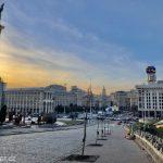Náměstí nezávislosti - Kyjev Ukrajina