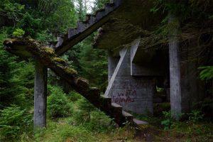 Rolava - opuštěný cínový důl Sauersack