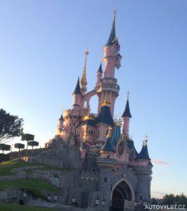 Zámek spící krásky v Disneylandu Paříž