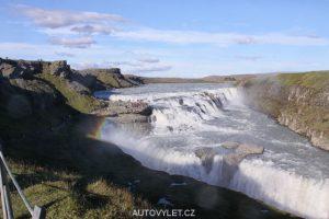 Vodopád Gullfoss - Island