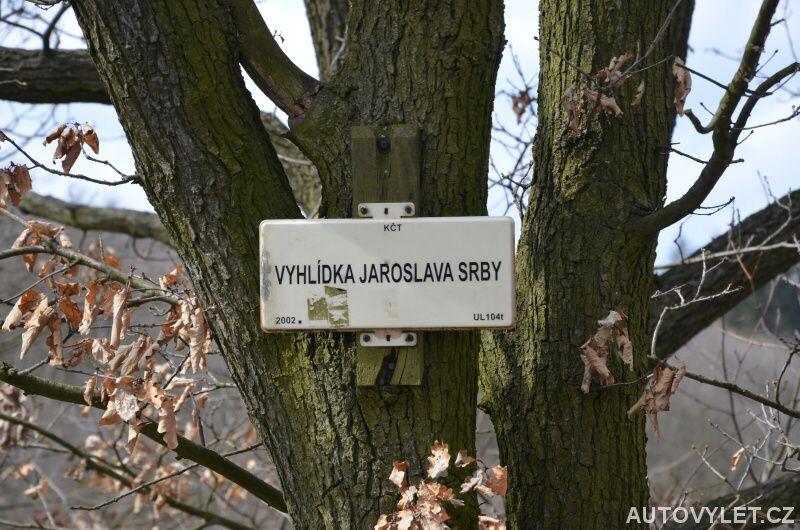 Vyhlídka Jaroslava Srby - turistická značka