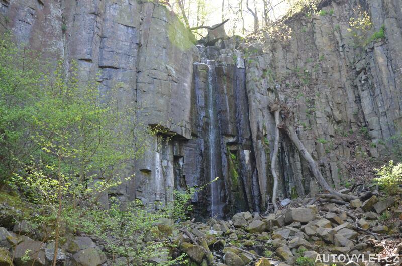 Vaňovský vodopád Ústí nad Labem