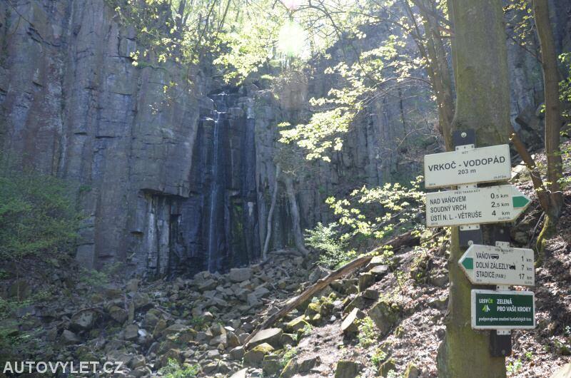 Vrkoč - vodopád
