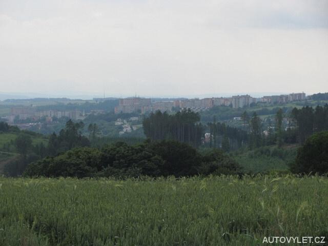 Výhled na město Zlín
