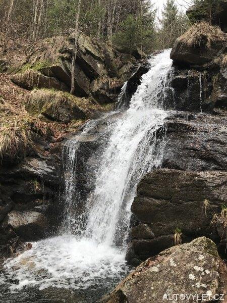 Borový vodopád Jeseníky