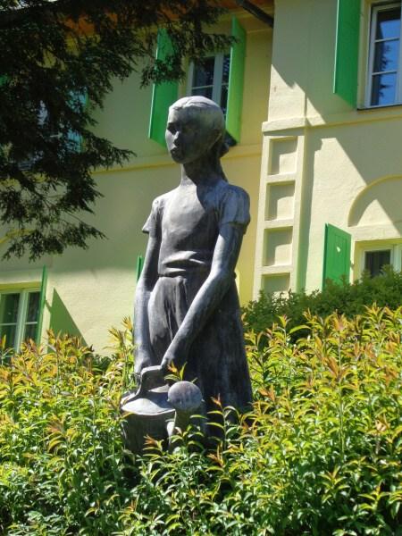 Teplice nad Bečvou - socha