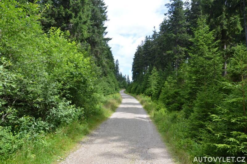 Cesta na Boubín