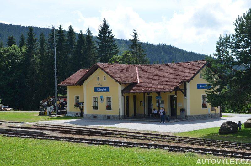 Kubova Huť železniční stanice