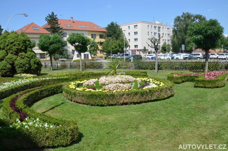 Květná zahrada Kroměříž a parkoviště