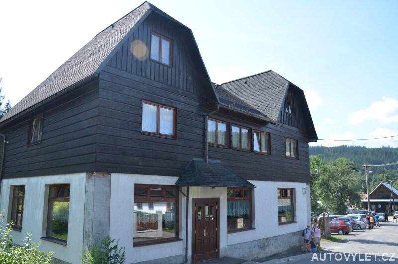 Penzion Velké Karlovice - obchod v Protějově