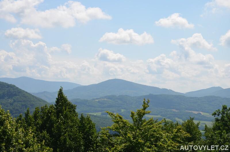 Výhled z Bílé hory u Štramberka