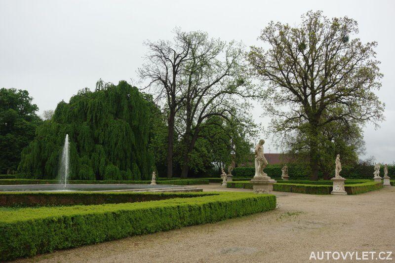 Zámecká zahrada Slavkov