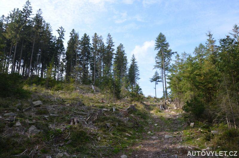 Cesta na vrch Krudum