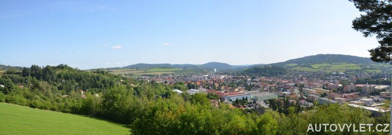 Město Sušice panorama