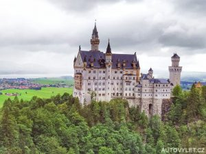 Neuschwanstein hrad Německo