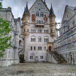 Neuschwanstein hrad Německo 2