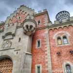 Neuschwanstein hrad Německo 3