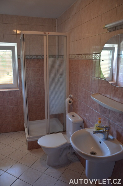 Penzion pod Ždánovem koupelna