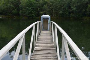 Podvodní pozorovací kabina Mrákov