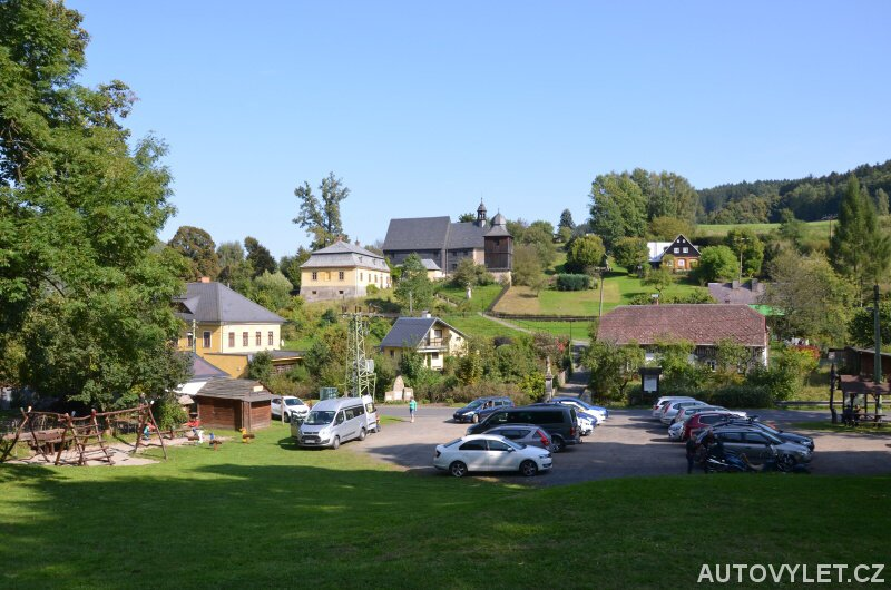 Parkování Kryštofovo údolí