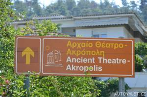 Acropolis Thassos Řecko