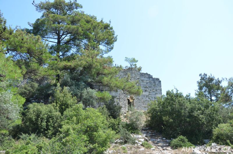 Acropolis Thassos Řecko 4