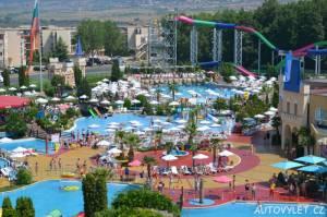 action aquapark sunny beach slunečné pobřeží bulharsko