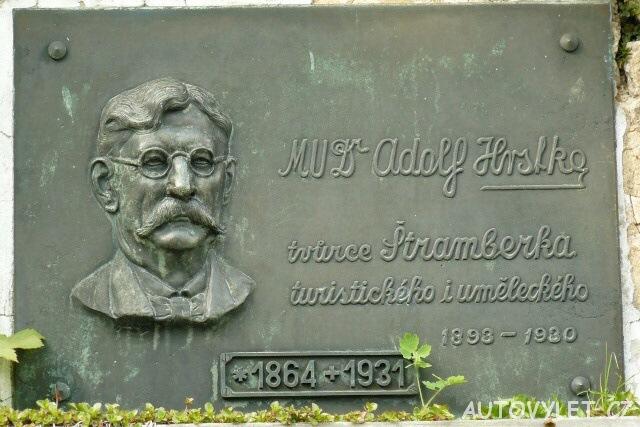 Adolf Hrstka tvůrce Štramberka