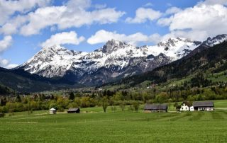 alpy hory rakousko