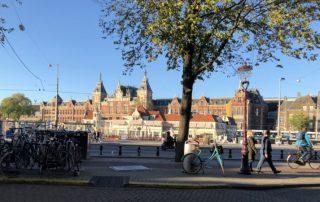 Amsterdam Centraal - vlakové nádraží