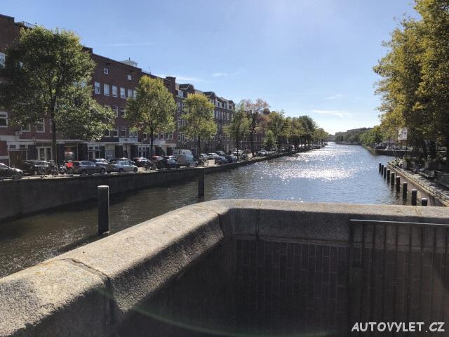 Amsterdam Holandsko - řeka Amstel