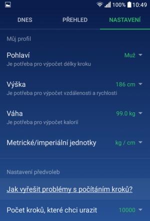 aplikace krokoměr do mobilu nejlepší pro android 8