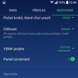 aplikace krokoměr do mobilu nejlepší pro android 9