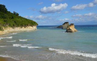 apotripiti beach corfu greece