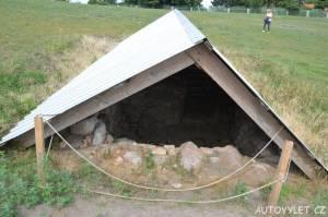 Archeologická naleziště - vyhlídka Lubin Polsko 2