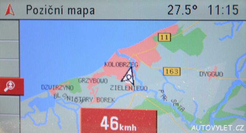 Autem do Kolobřehu v Polsku