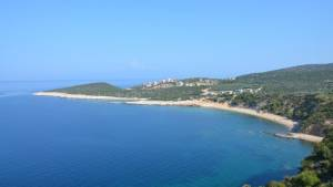 Autem kolem ostrova Thassos v Řecku