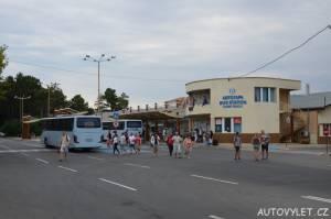autobusové nádraží sunny beach bulharsko