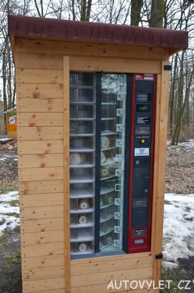 automat na prodej medu - zoo brno