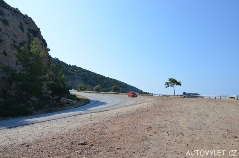 Autovýlet Thassos Řecko