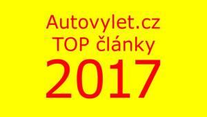 Autovýlet.cz top články 2017