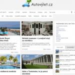 Nový design webu Autovylet.cz pro rok 2016