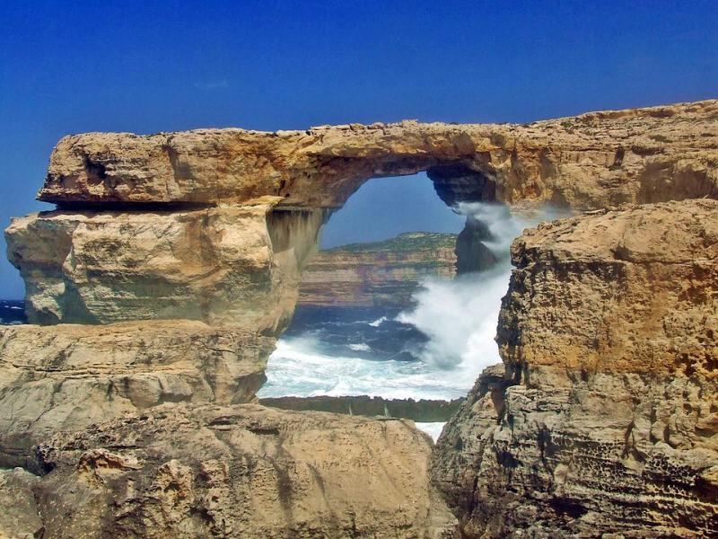 Azurové okno Malta