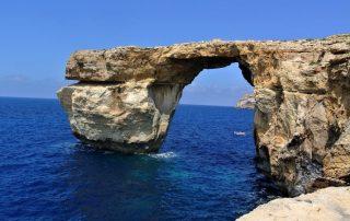 Azurové okno - ostrov Malta