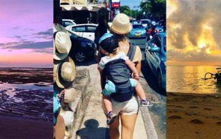 Bali - rodina na cestách
